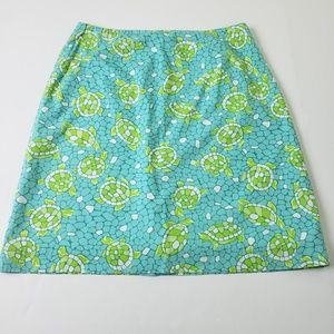 Lilly Pulitzer Mosaic Sea Turtle Skirt